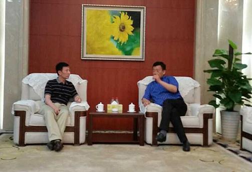 兴邦产业集团董事长姚晓宏应邀考察重庆西永综合保税区
